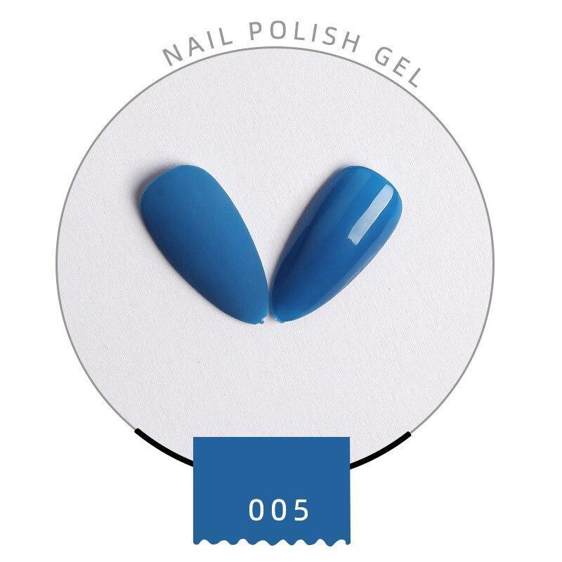 ZOVZP Gel Polish Nail Art 2020 Nail-gel Color Gel Blue Demon Girl Series Solid Color 8ml Nail-gel Set Nail Beauty Nail Painting